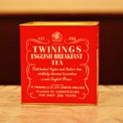 TwiningsのEnglish Breakfastを試し飲み!