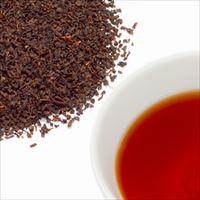 セイロン・ディンブラティーの茶葉と水色の写真