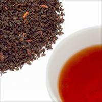 ウバティーの茶葉と水色の写真