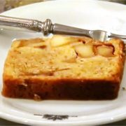 英国風アップルシナモンバターケーキの動画レシピ